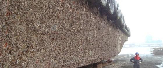 limpeza de casco de navio com hidrojato rio grande pelotas porto alegre trevo hidrojateamento remoção de craca
